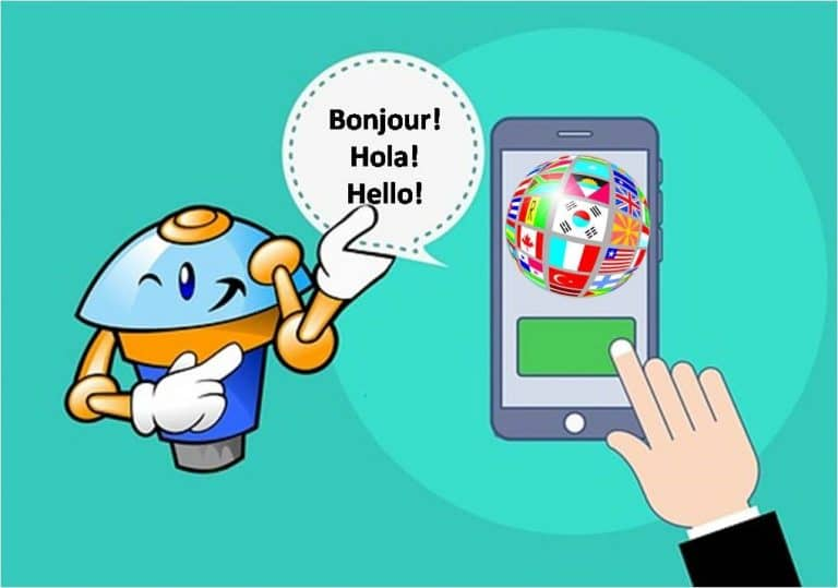 Multi-language and multi-country chatbot service